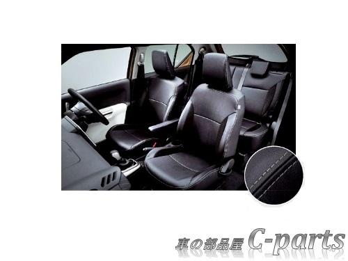 【純正】SUZUKI IGNIS スズキ イグニス【FF21S】  革調シートカバー(サイドエアバッグ装着車用)[99000-990J5-G11]