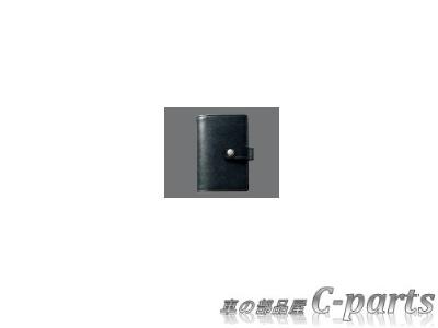 【純正】TOYOTA ESTIMA トヨタ エスティマ【ACR50W ACR55W】  本革キーケース【ブラック】[08193-75000]