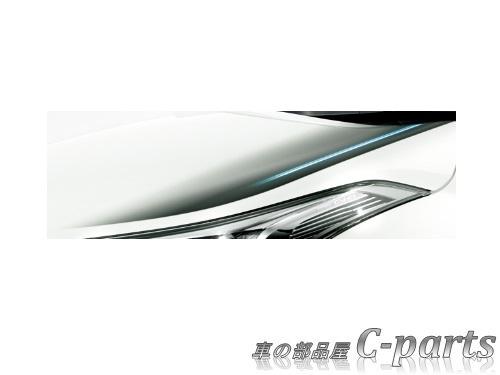 【純正】TOYOTA C-HR トヨタ C-HR【NGX10 NGX50 ZYX10 】  フードデカール【グレー】[08187-10010]
