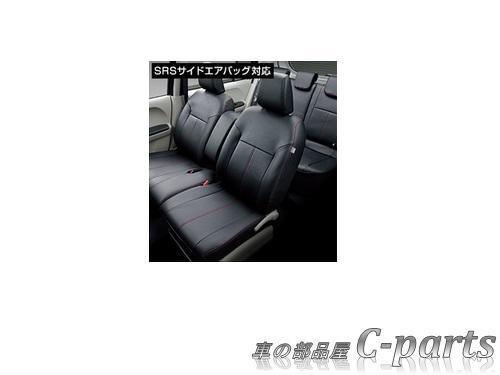 【純正】TOYOTA PASSO トヨタ パッソ【M700A M710A】  革調シートカバー【仕様は下記参照】【ブラック】[08220-B1151]