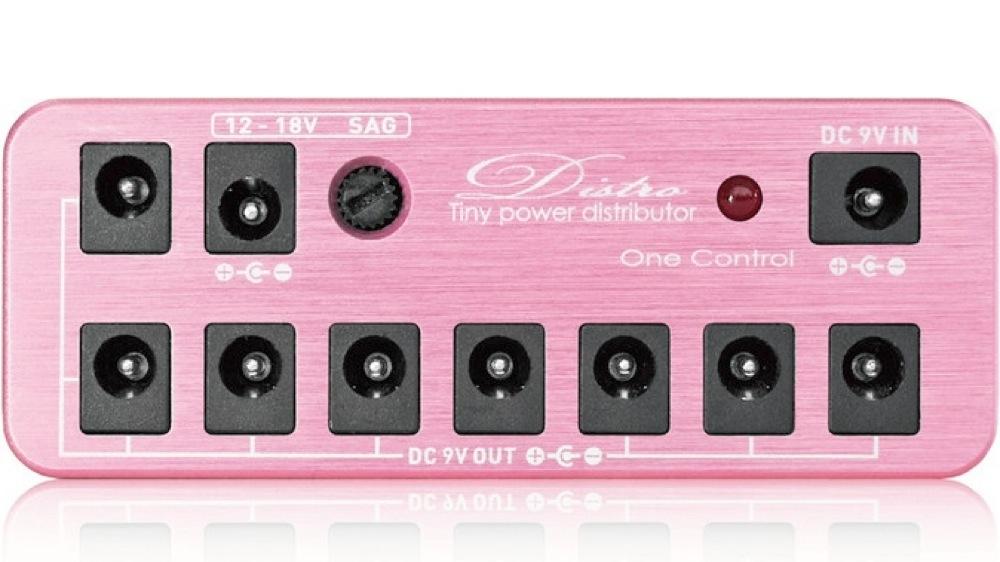 限定版 One Control Distro Fairy Pink スターターキット ピンク アダプター DCケーブル付き パワーサプライ, ヤマトチョウ a625b179