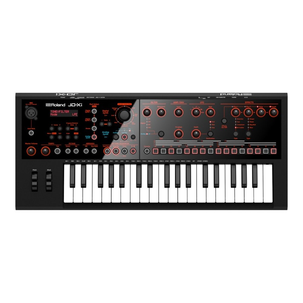 ROLAND JD-Xi Analog/Digital Crossover Synthesizer シンセサイザー