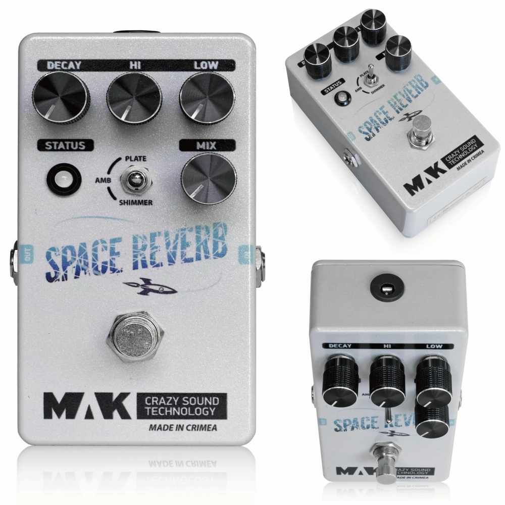 MAK crazy sound technology Space Reverb リバーブ エフェクター