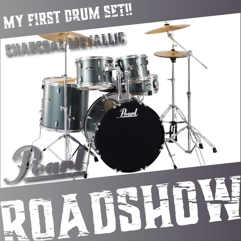 Pearl ROADSHOW RS525SCW/C #706 CHARCOAL METALLIC ドラムセット