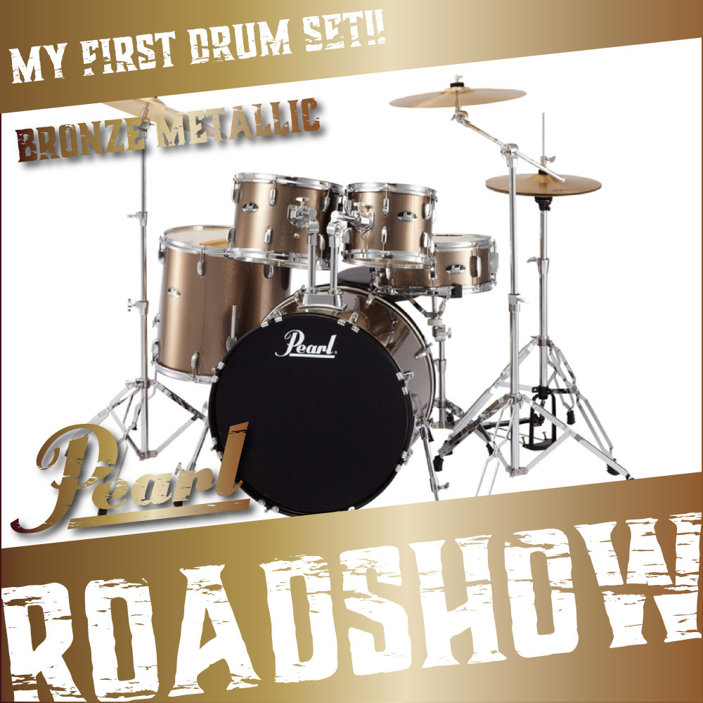 Pearl ROADSHOW RS525SCW/C #707 BRONZE METALLIC ドラムセット