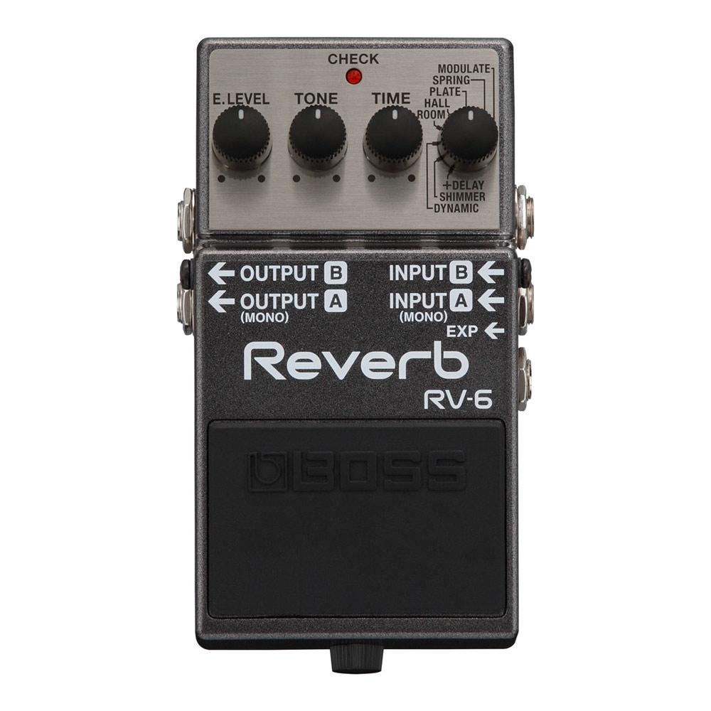 BOSS RV-6 Reverb リバーブ エフェクター