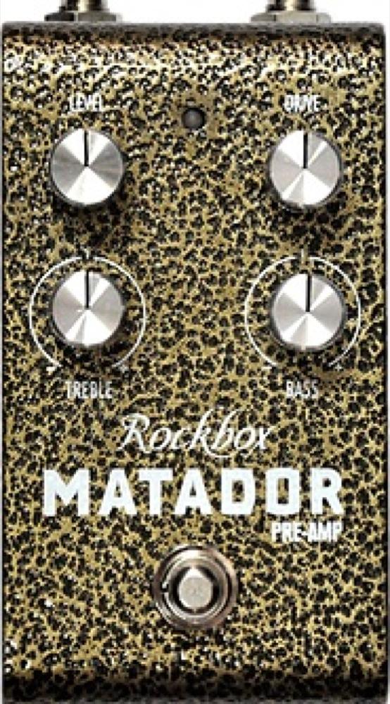 Rockbox MATADOR ギターエフェクター