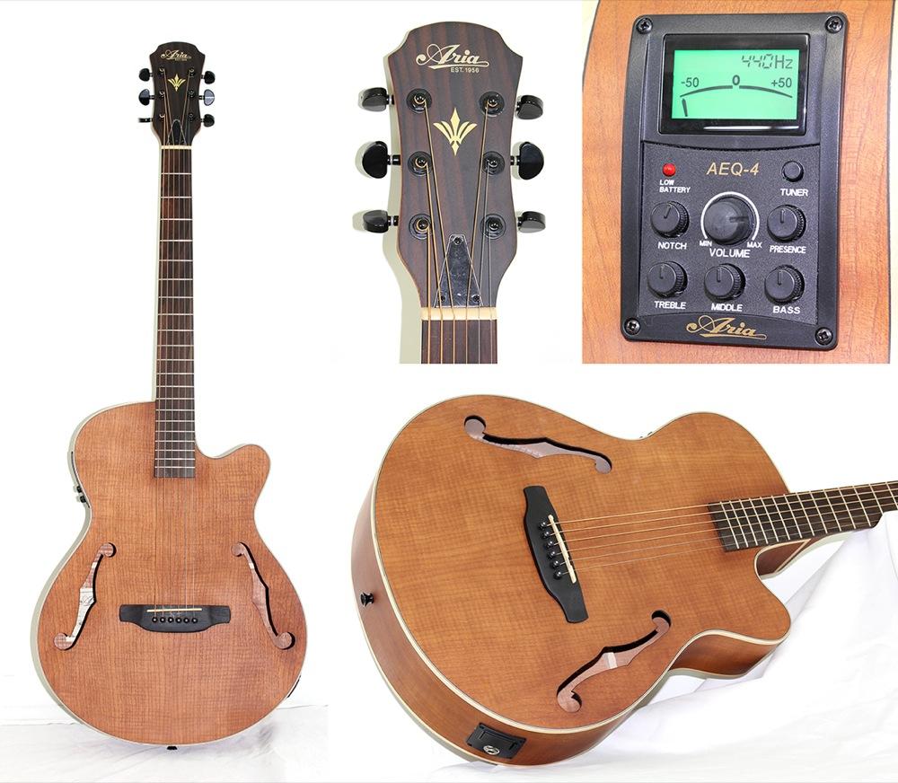 ARIA FET-F1 N エレクトリックアコースティックギター