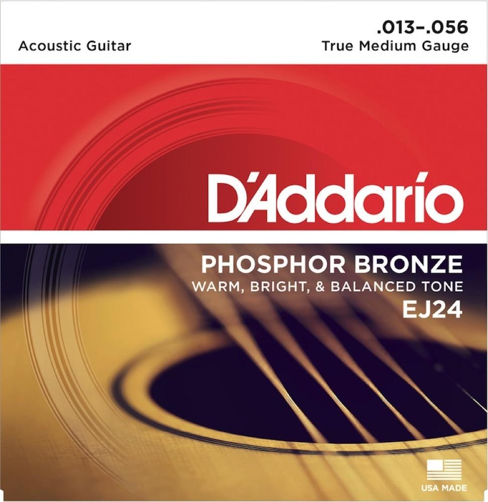 ダダリオ DADGADチューニング用 ミディアムゲージ弦 D'Addario EJ24 アコースティックギター弦 DADGAD True.Med オープニング 大放出セール 013-056 新作送料無料
