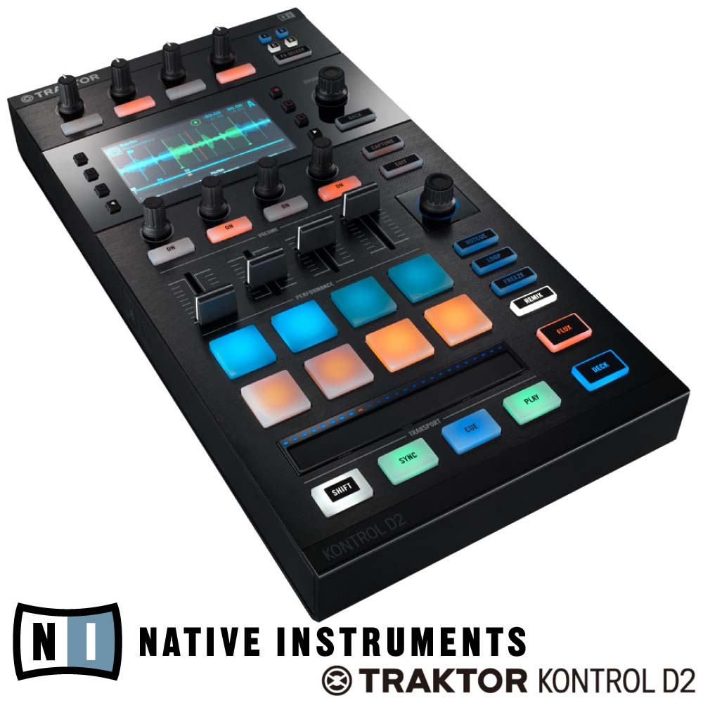 NATIVE INSTRUMENTS TRAKTOR KONTROL D2 DJコントローラー
