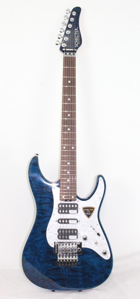 SCHECTER SD-2-24-AL BLU/R エレキギター