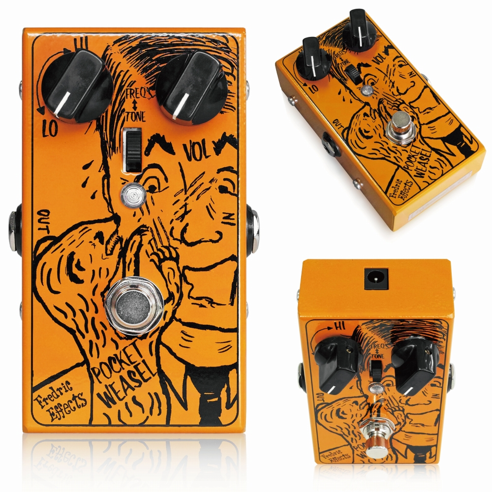 Fredric Effects Pocket Weasel MkII ギターエフェクター