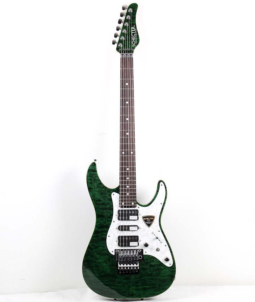 SCHECTER SD-2-24-AL GRN/R エレキギター
