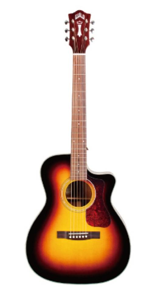 GUILD OM-140CE SB エレクトリックアコースティックギター