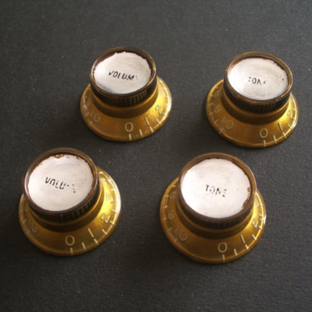 Montreux Reflector knob set Gold (4) Time Machine Collection No.1037