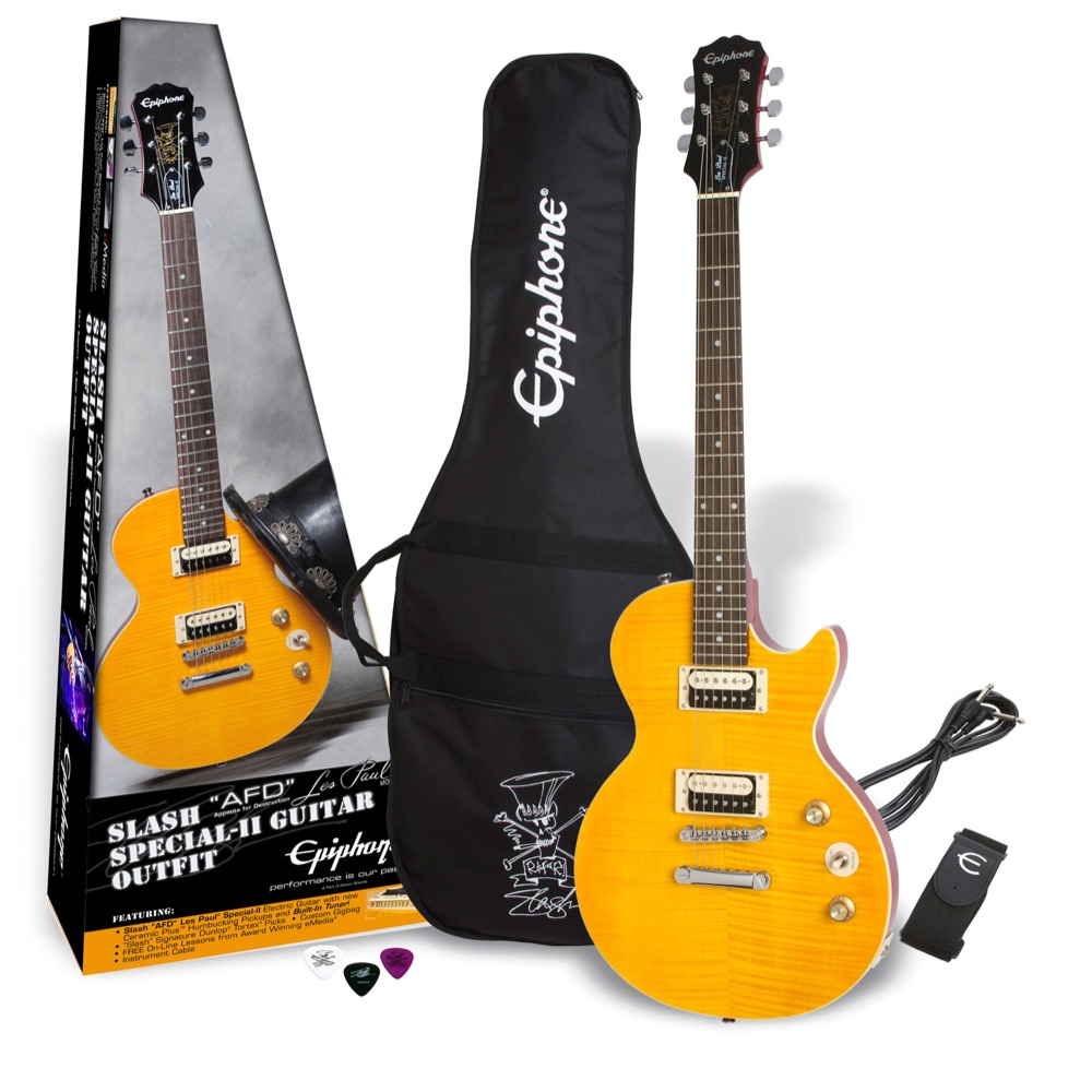 Epiphone Slash AFD Les Paul Special-II Guitar Outfit エレキギター