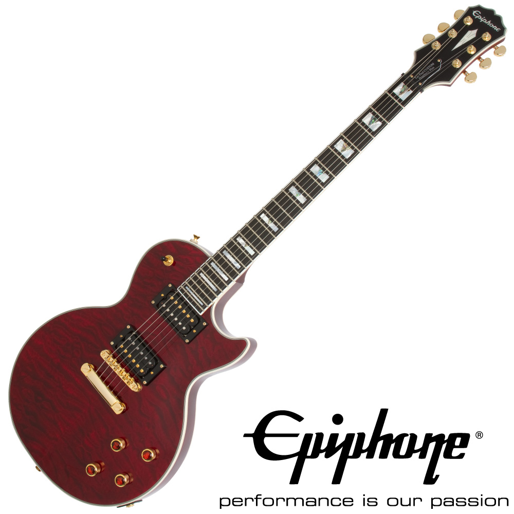 Epiphone Prophecy Les Paul Custom Plus GX BC エレキギター
