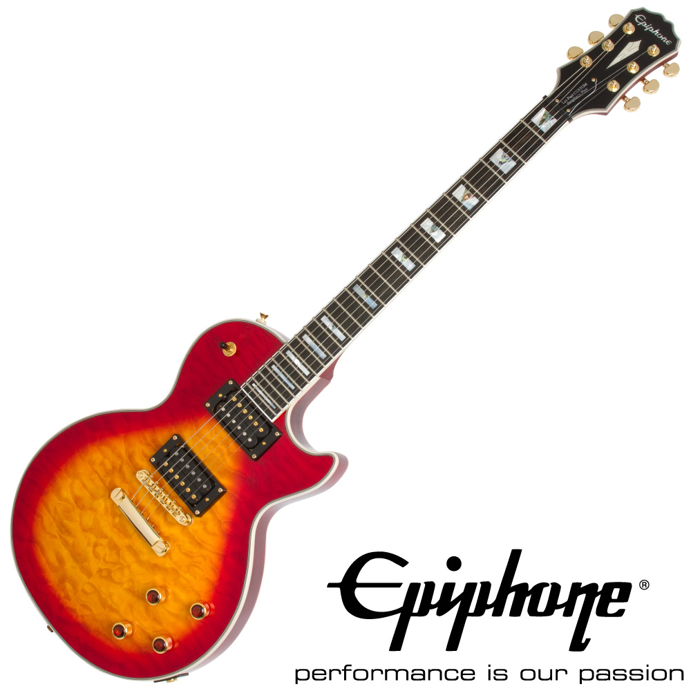 Epiphone Prophecy Les Paul Custom Plus GX HS エレキギター