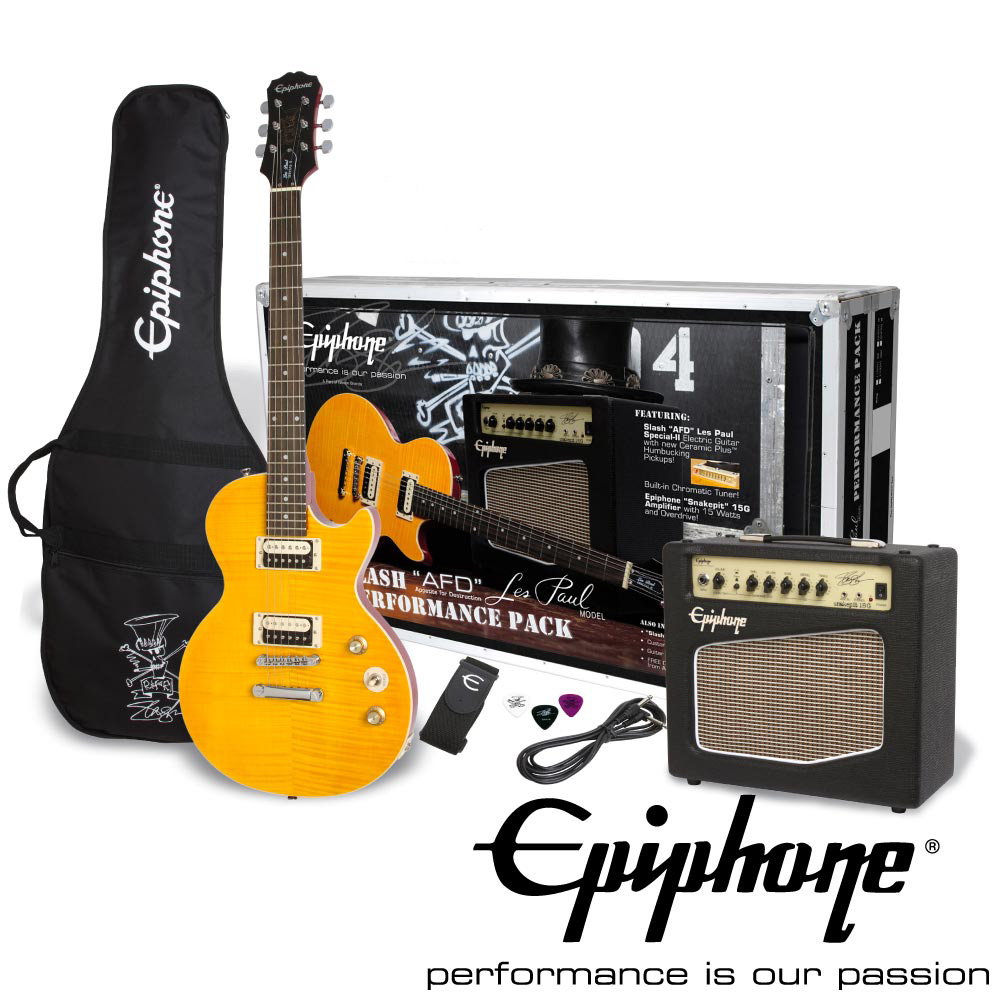 Epiphone Slash AFD Les Paul Special-II Performance Pack エレキギターセット