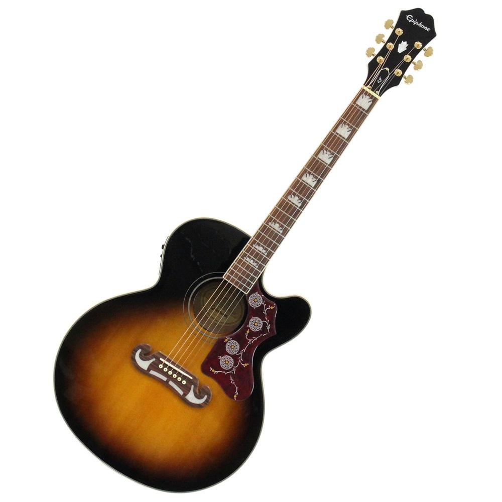 Epiphone EJ-200SCE VS エレクトリックアコースティックギター