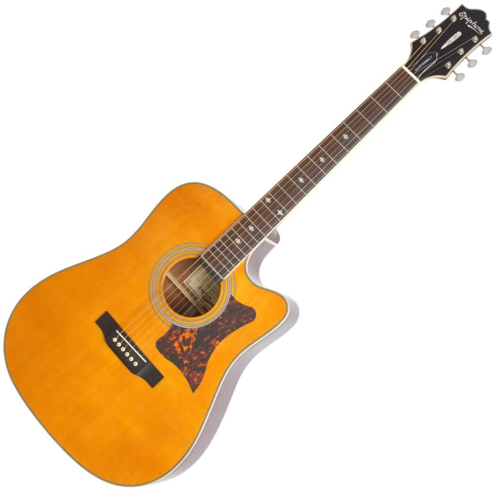 エピフォン マスタービルトシリーズ エレアコギター Epiphone Masterbilt DR-500MCE NA エレクトリックアコースティックギター