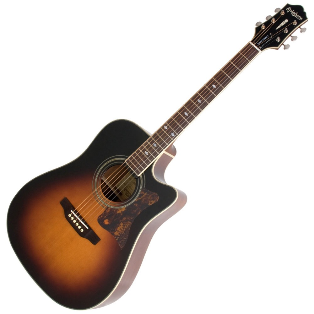 Epiphone Masterbilt DR-500MCE VS エレクトリックアコースティックギター