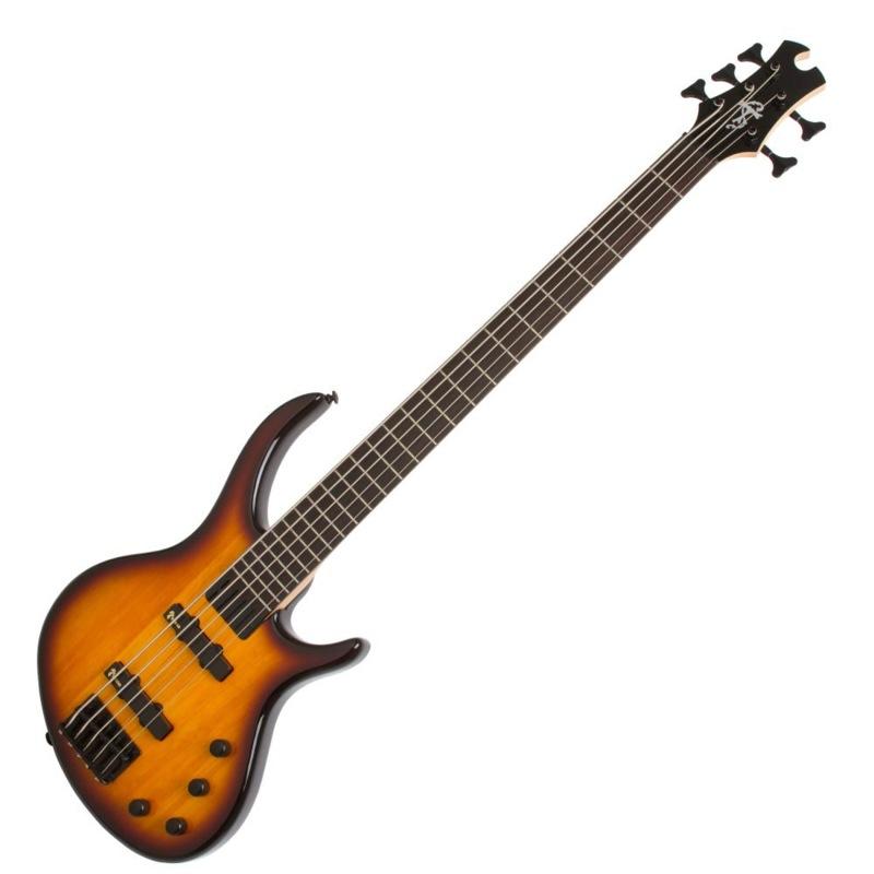 Epiphone Toby Deluxe-V Bass VS 5弦エレキベース