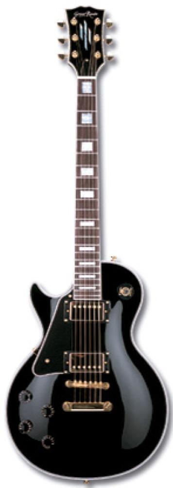 GrassRoots G-LP-60C L/H BK エレキギター