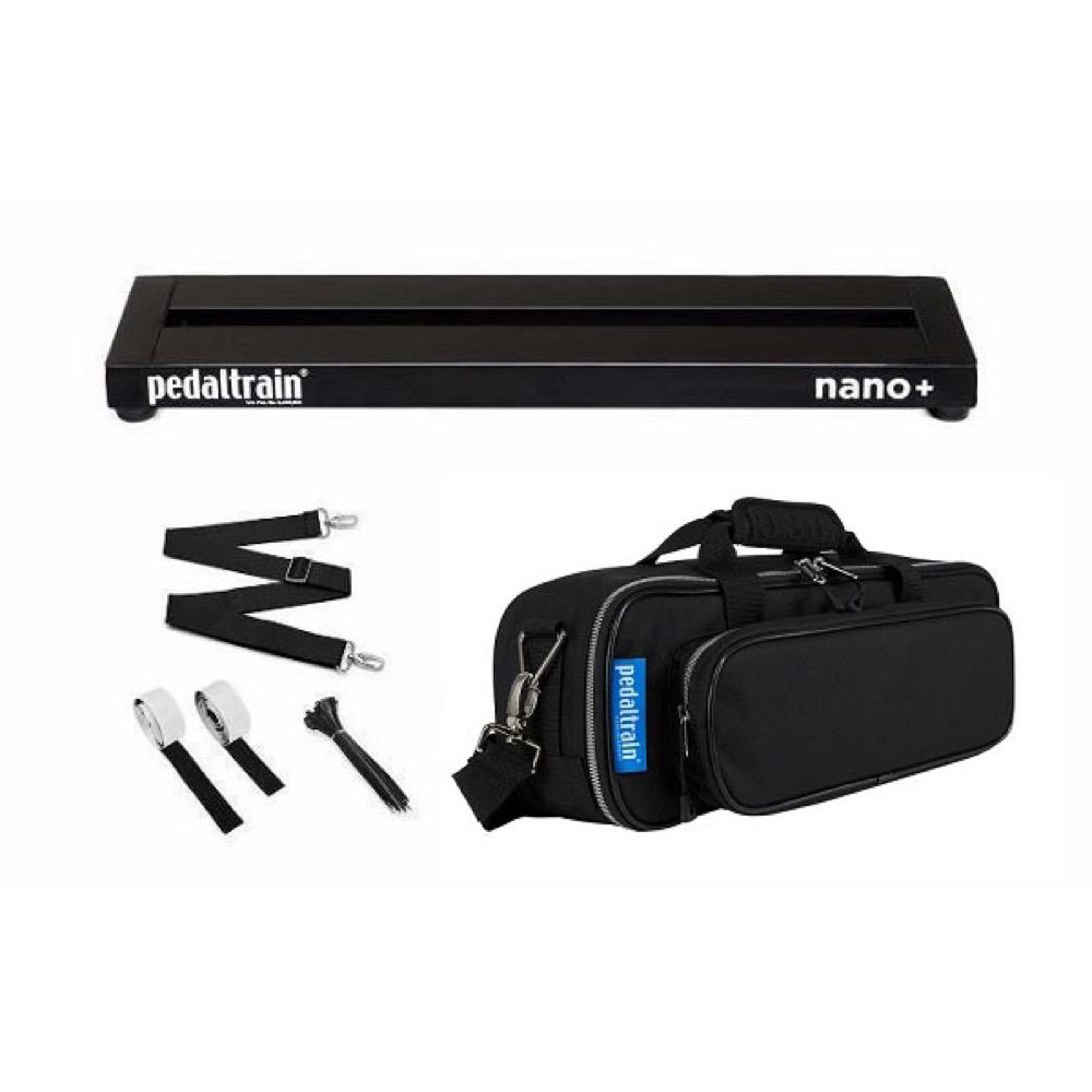 Pedaltrain NANO Plus PT-NPL-SC ペダルボード ソフトケース付き