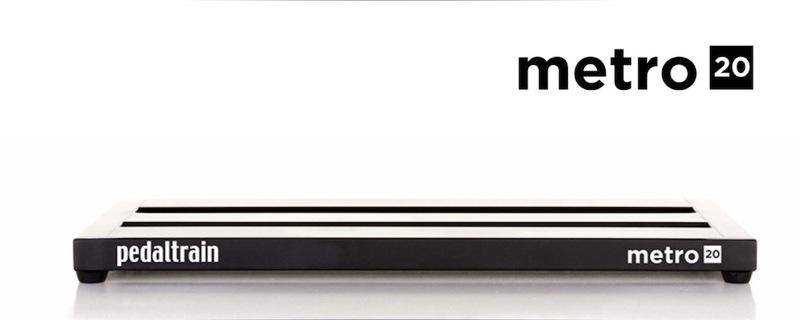 有Pedaltrain Metro 20 PT-M20-SC踏板板軟體盒子