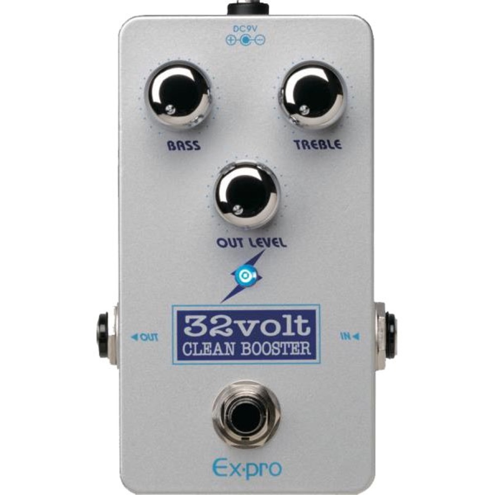 EX-PRO 32Volt CLEAN BOOSTER ギターエフェクター