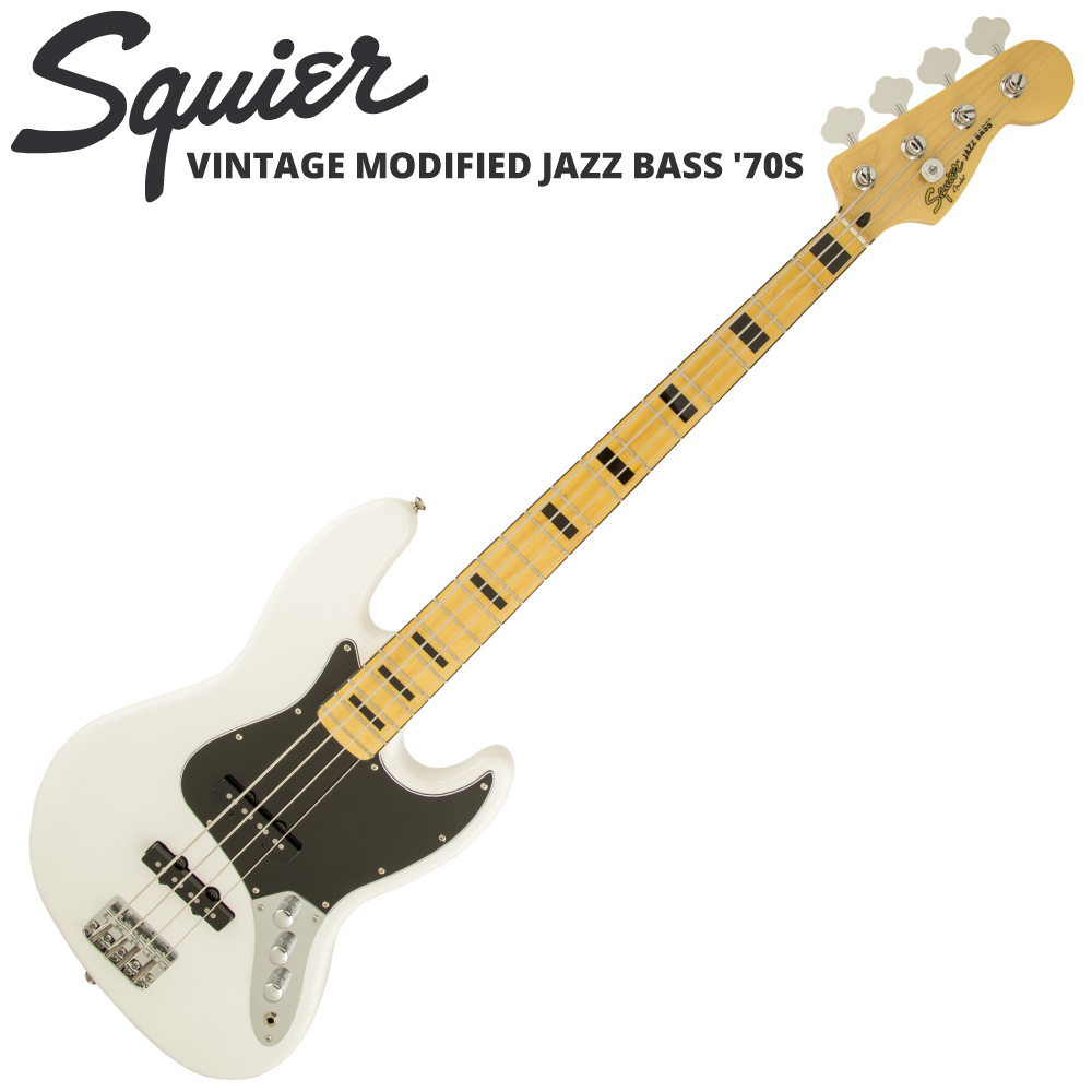 Squier Vintage Modified Jazz Bass '70s OWT エレキベース