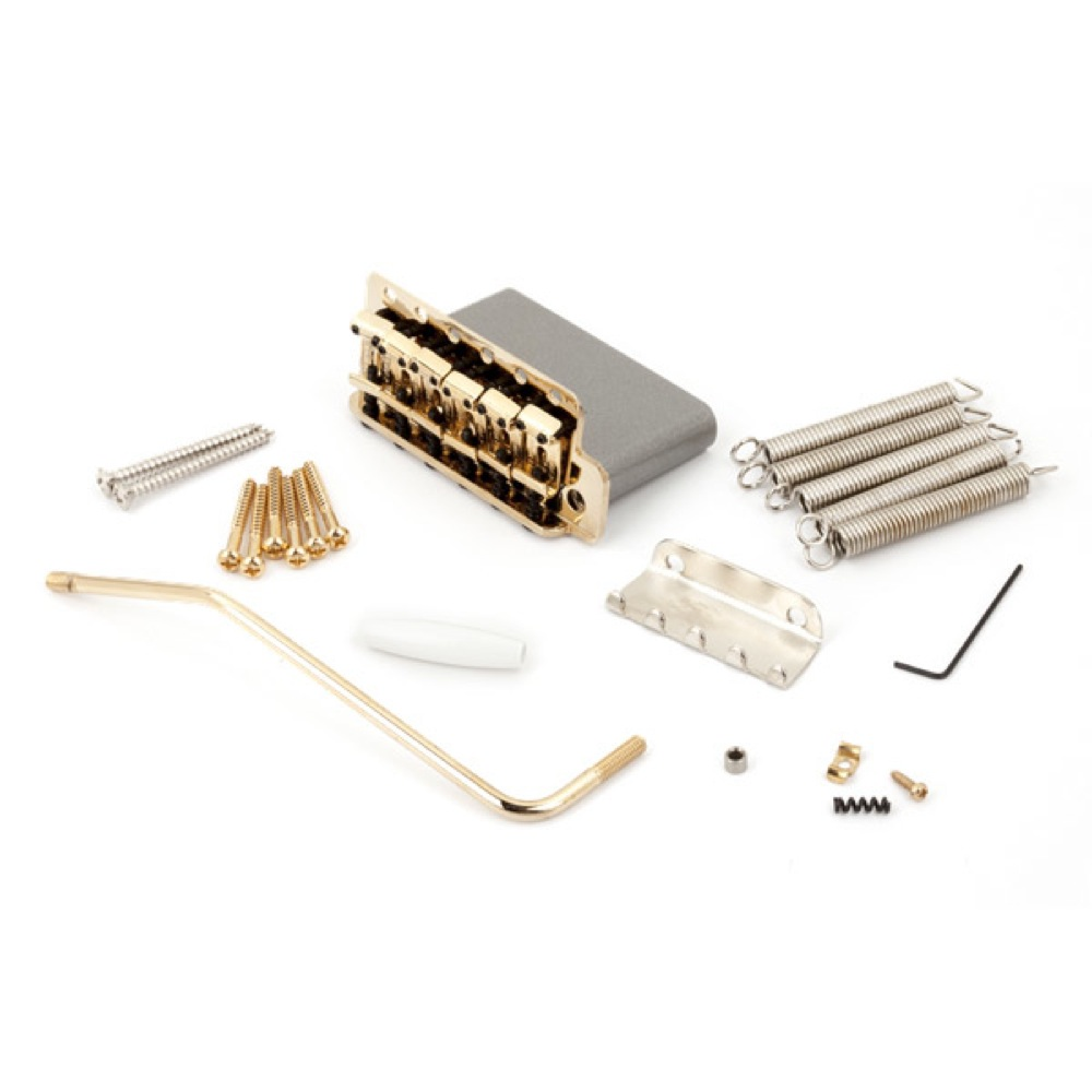 Fender American Vintage Series Stratocaster Tremolo Assemblies Gold ギター用ブリッジ
