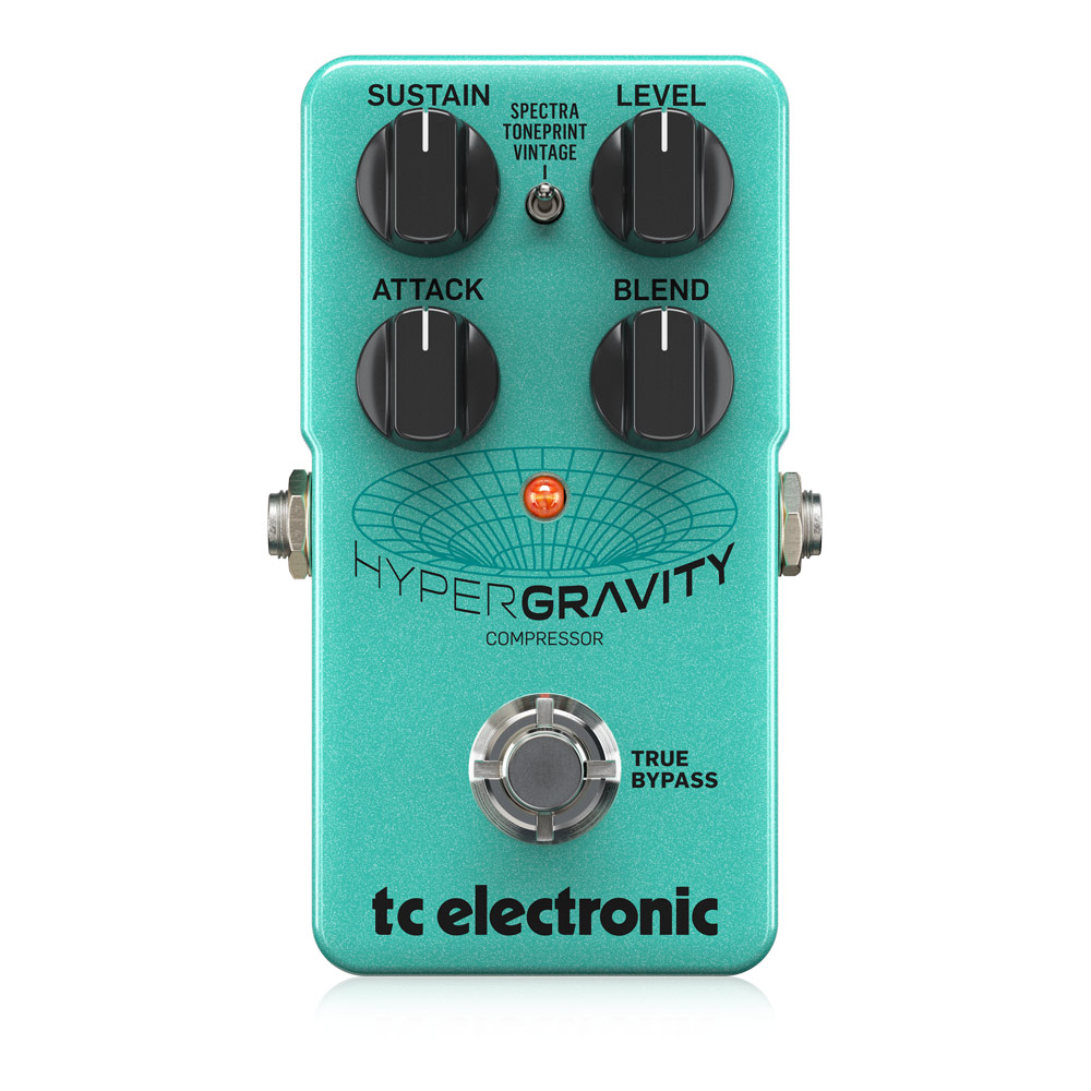 tc electronic HYPERGRAVITY COMPRESSOR ギターエフェクター