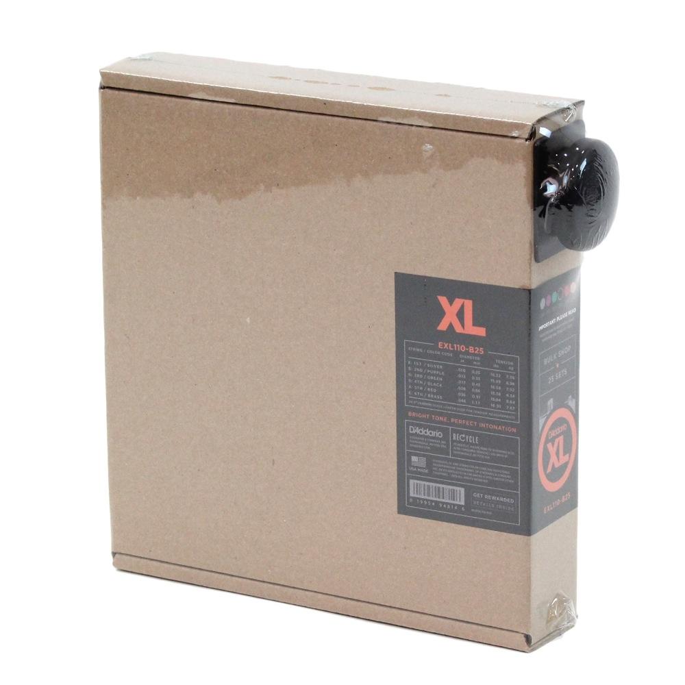 D'Addario EXL110-B25 R.Light 010-046 バルクパック 25セット入り