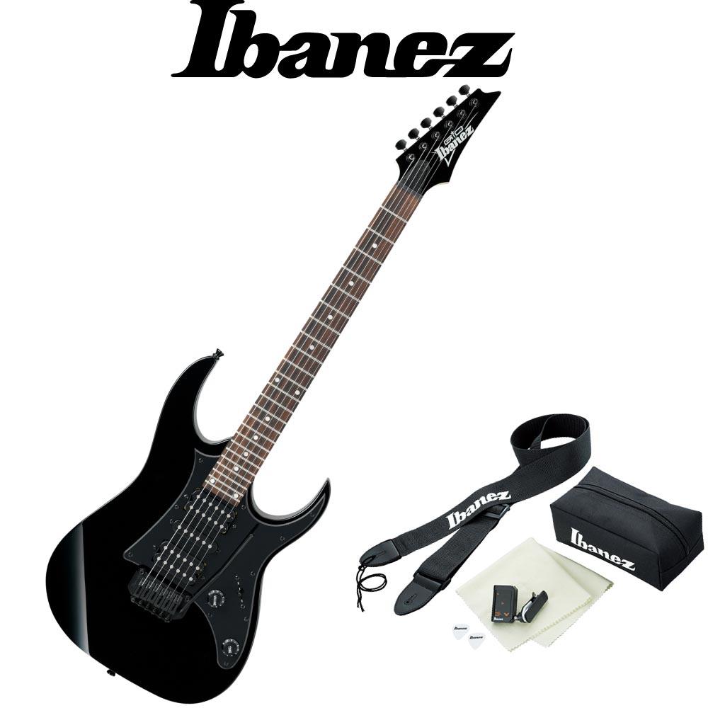IBANEZ GRG150B BKN アクセサリーセット付き エレキギター