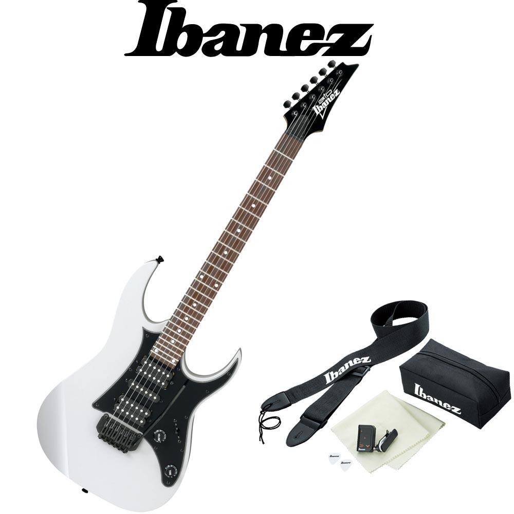 IBANEZ GRG150B WH アクセサリーセット付き エレキギター