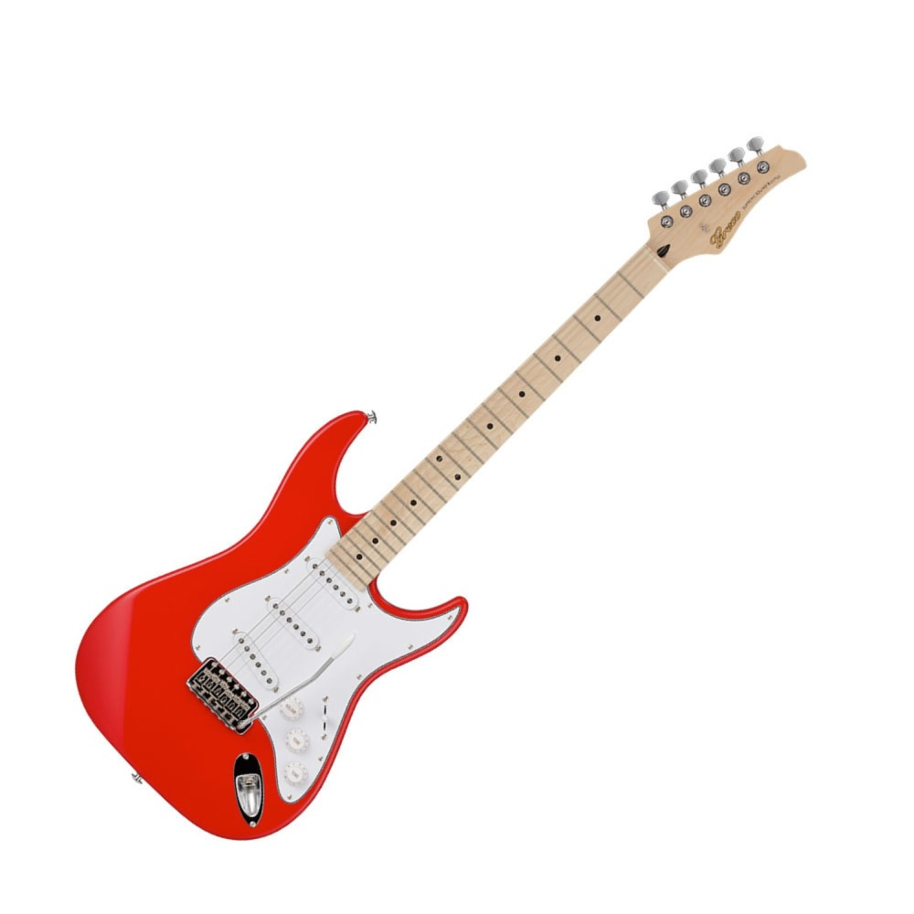 GRECO WS-STD RED Maple Fingerboard エレキギター