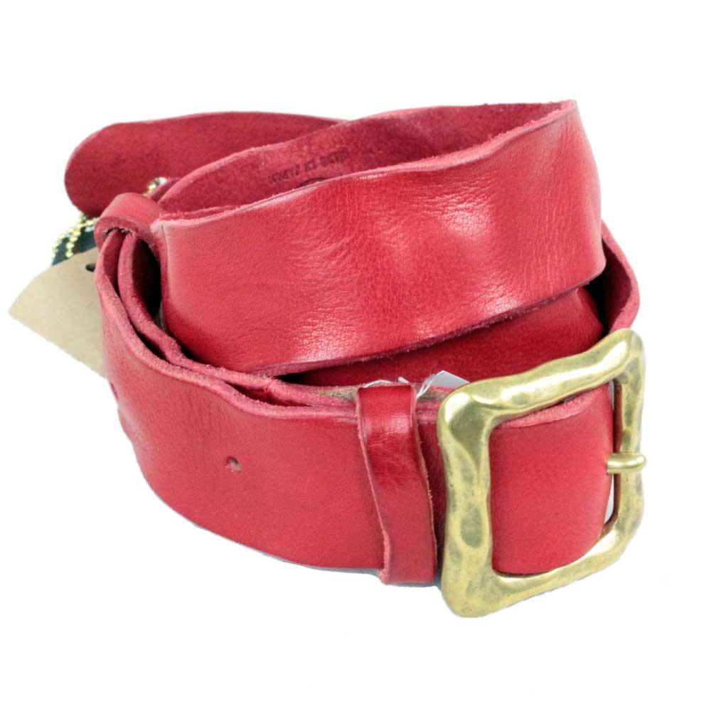 KAMINARI K-GLS01RD Washed Leather Strap