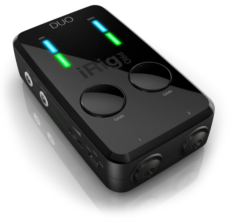 IK Multimedia iRig PRO Duo iPhone対応 オーディオ/MIDIインターフェイス