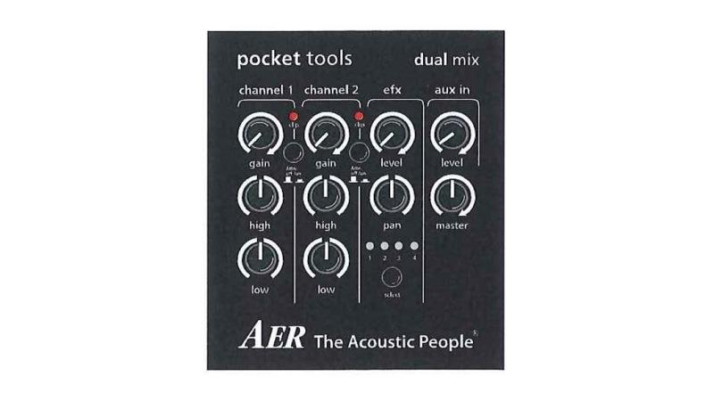 AER dual mix 2 어쿠스틱 기타 용 엠 프