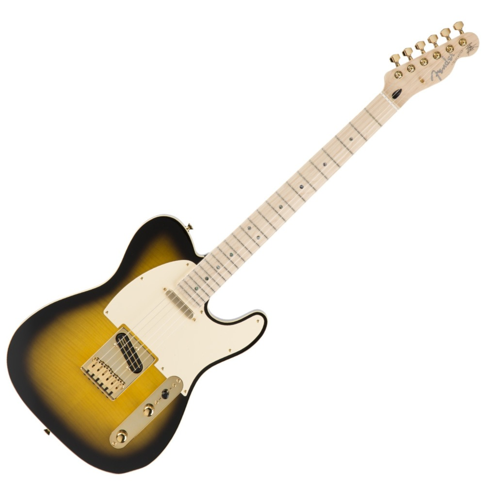 Fender Japan Exclusive Richie Kotzen Telecaster Brown Sunburst リッチー・コッツェン シグネイチャー エレキギター
