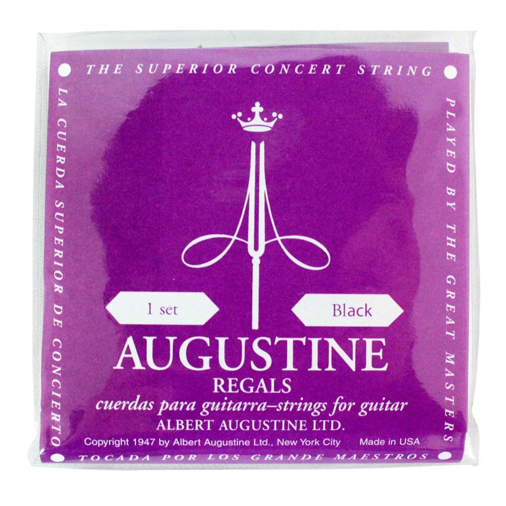 <title>オーガスチン リーガル ブラック ついに再販開始 クラシックギター弦 AUGUSTINE REGAL BLACK SET</title>