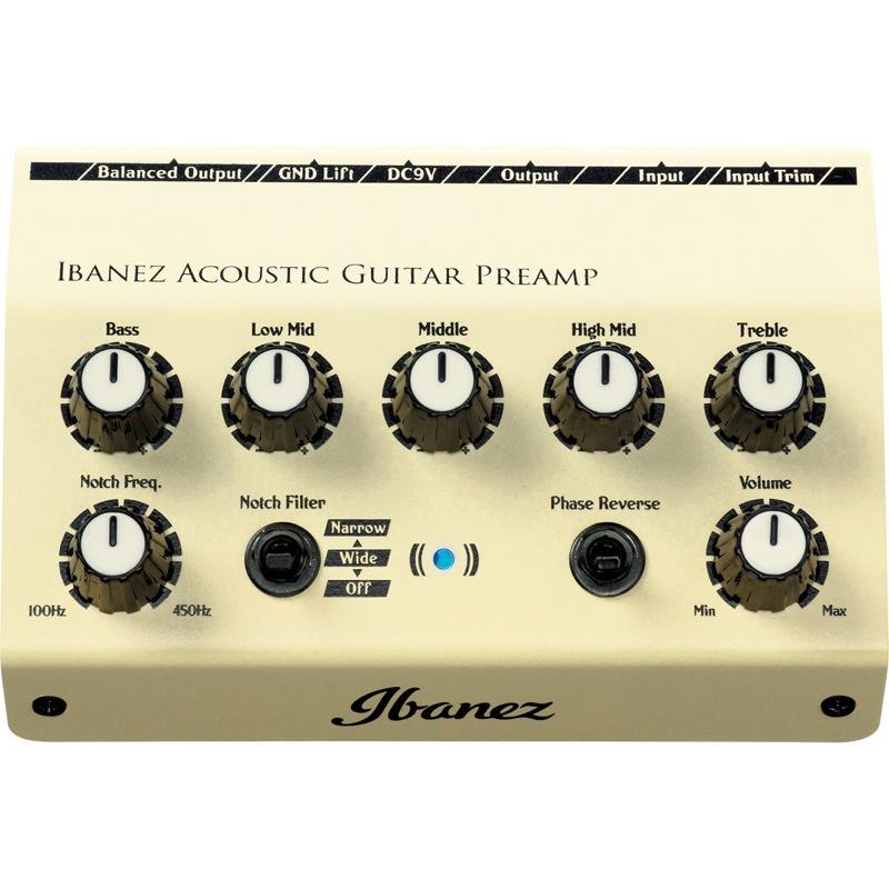 IBANEZ AGP10 어쿼스틱 기타용 전치 증폭기