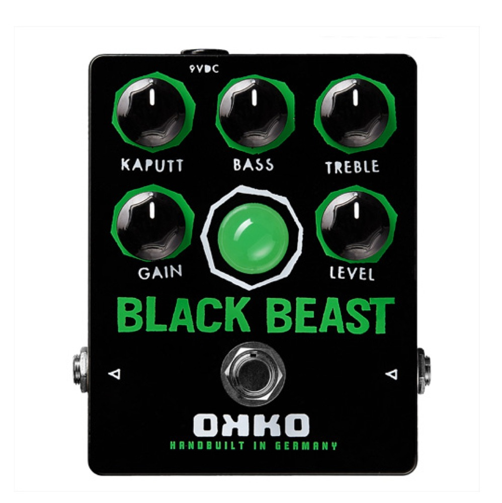 OKKO Black Beast ファズ エフェクター