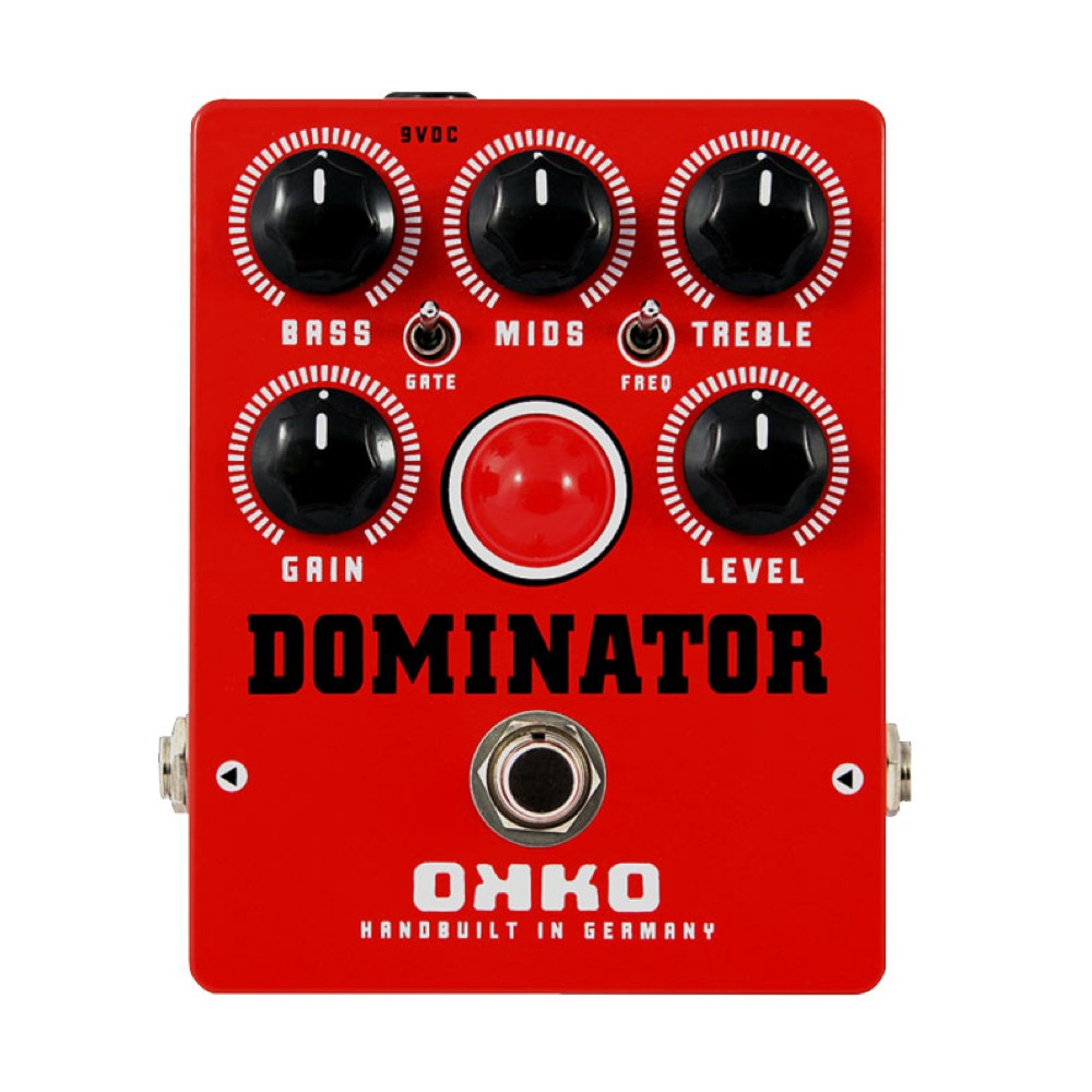OKKO Dominator MKII Red ディストーション エフェクター