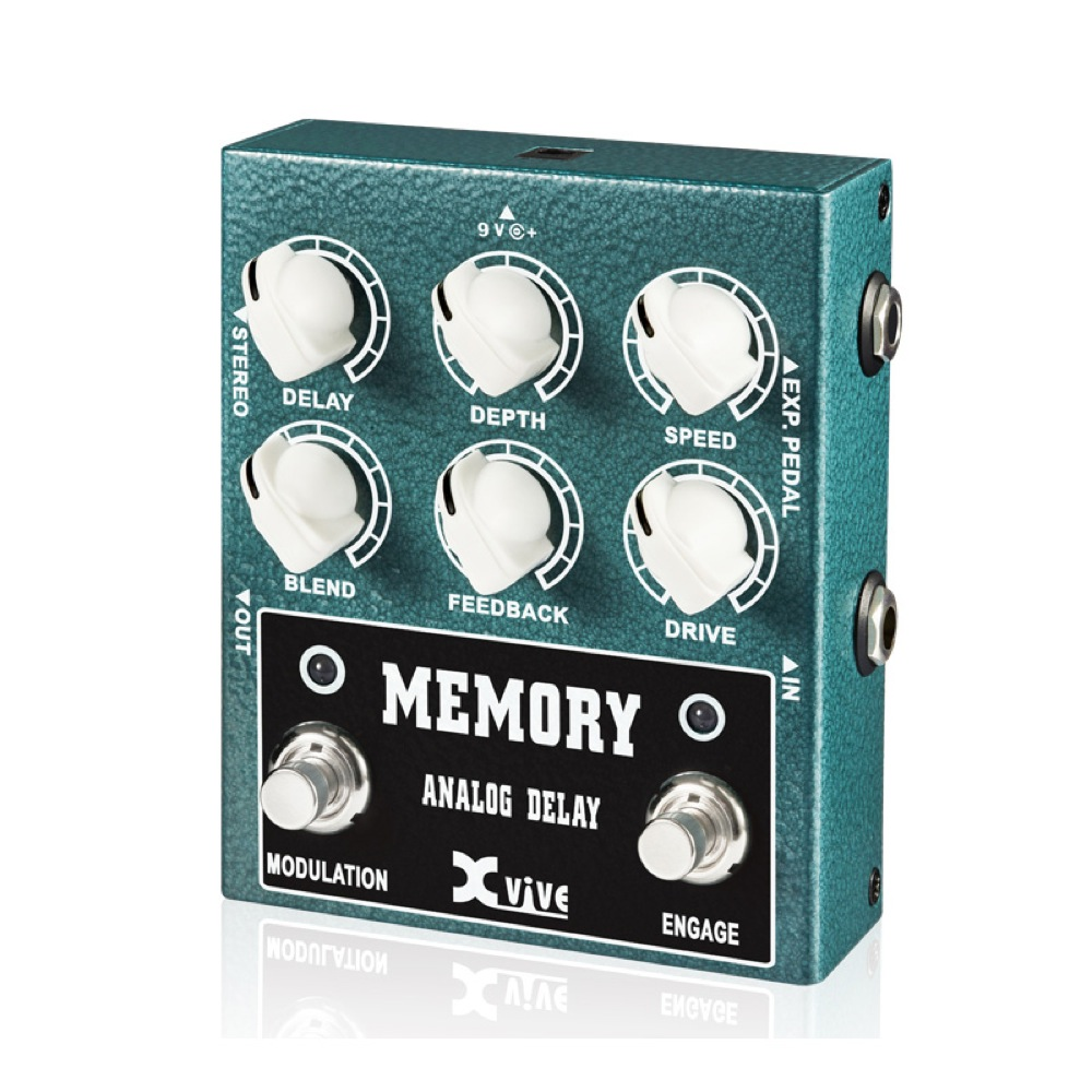 Xvive XV-W3 W3 MEMORY ANALOG DELAY アナログディレイ エフェクター
