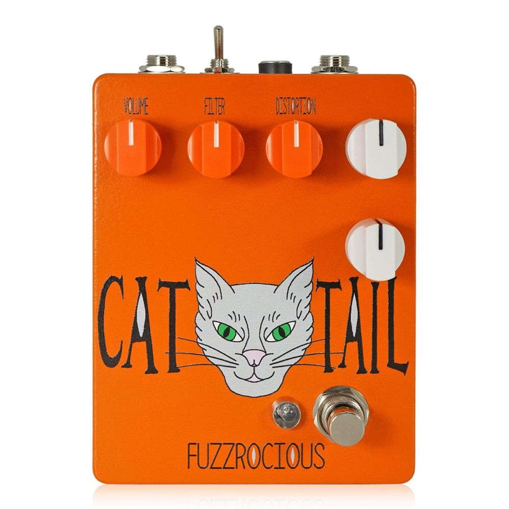 Fuzzrocious Pedals Cat Tail ディストーション エフェクター