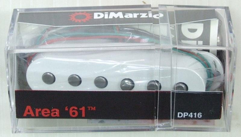 Dimarzio DP416 Area'61 W ギターピックアップ