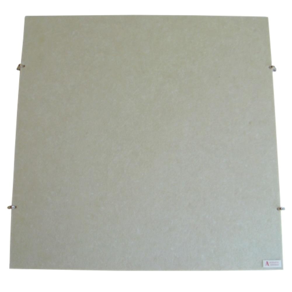 ACOUSTIC ADVANCE AMP-TB 吸音パネル 天井用 ピンタイプ(フック付き) ベージュ 4枚セット